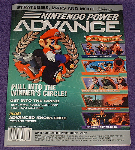 Nintendo Power Advance