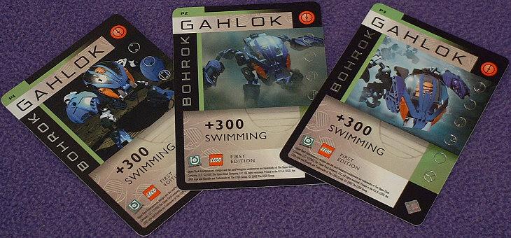 GAHLOK Foil Cards