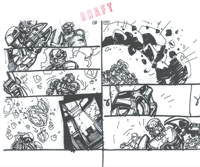 BIONICLE #8 Draft Pg. 3