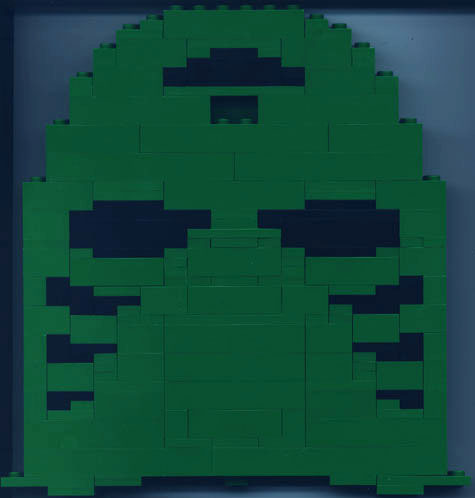 Green Mask Kit Back