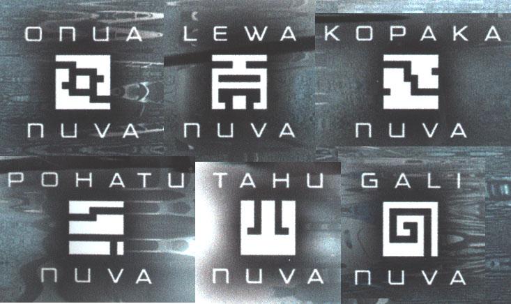 TOA NUVA Symbols