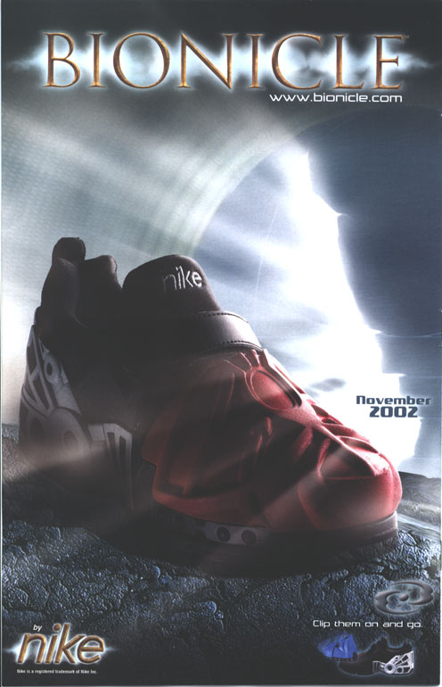 DC Comic #8 Back Cover