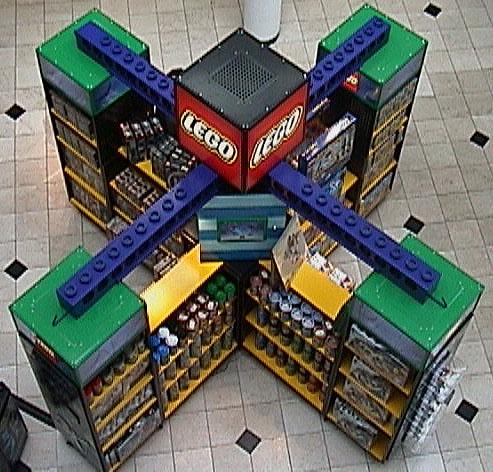 Above LEGO® Kiosk