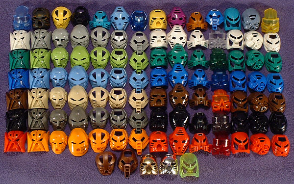 Full 2001 MASK Set