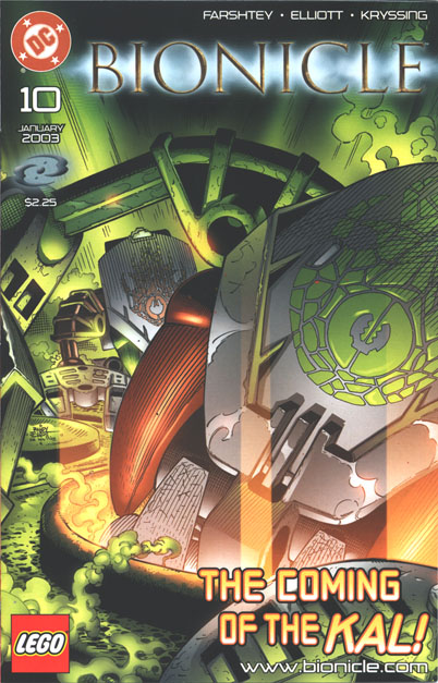 BIONICLE� #10 Front Cover