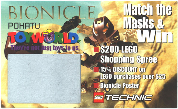 TOYWORLD POHATU Card