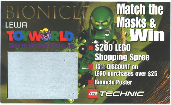 TOYWORLD LEWA Scratch-Off