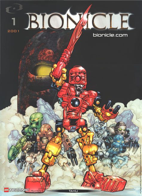2001 Comic TAHU Poster