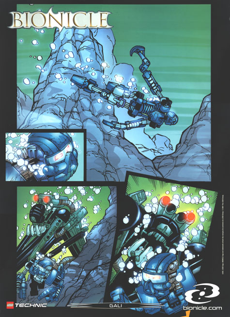 2001 Comic GALI Poster