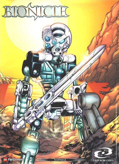 2001 Comic KOPAKA Poster