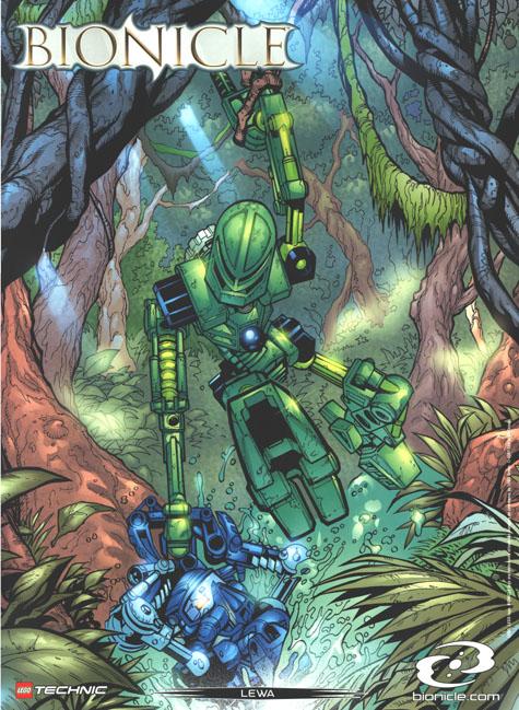 2001 Comic LEWA Poster