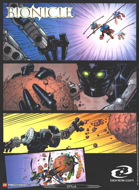 2001 Comic ONUA Poster