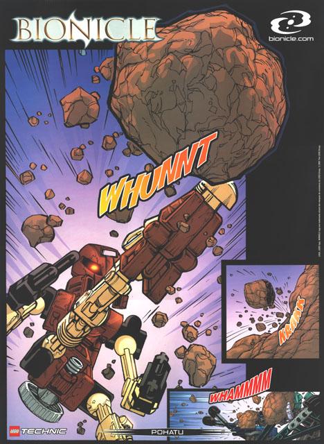 2001 Comic POHATU Poster