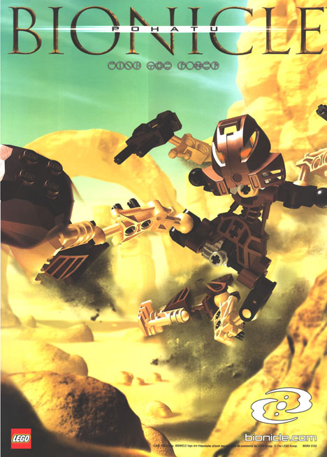 2001 CGI POHATU Poster