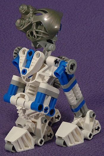 3-Leg Front Left View