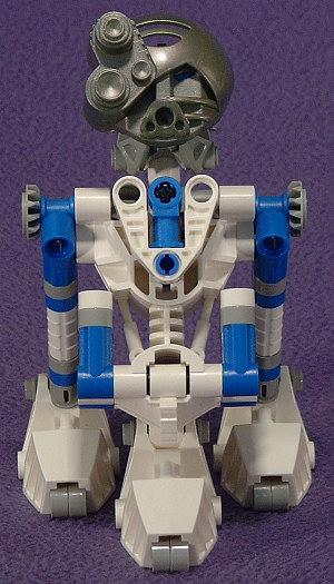 3-Leg Front View
