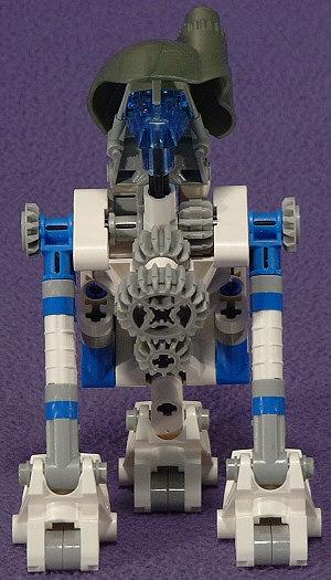 3-Leg Back View