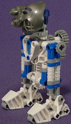 2-Leg Front Left View