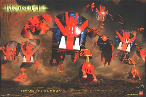 BIONICLE-BOHROK Poster