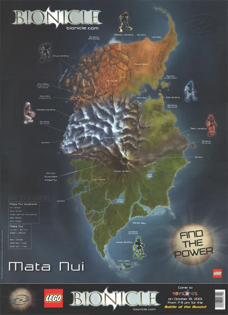 TRU Mata Nui Map