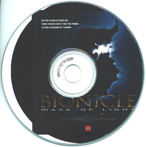 Mask Of Light CD-ROM