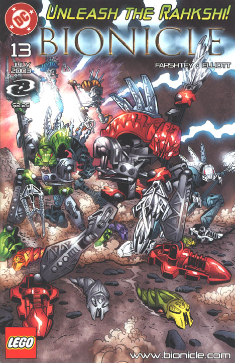 BIONICLE #13 Front Cover