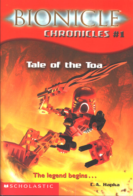Tale of the Toa Cover