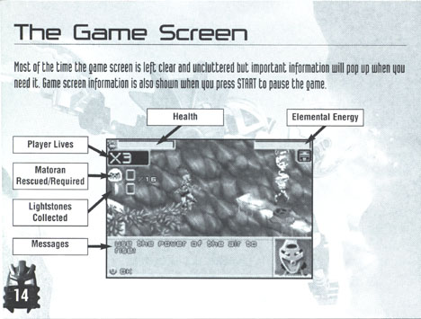 BIONICLE�: GBA Screen