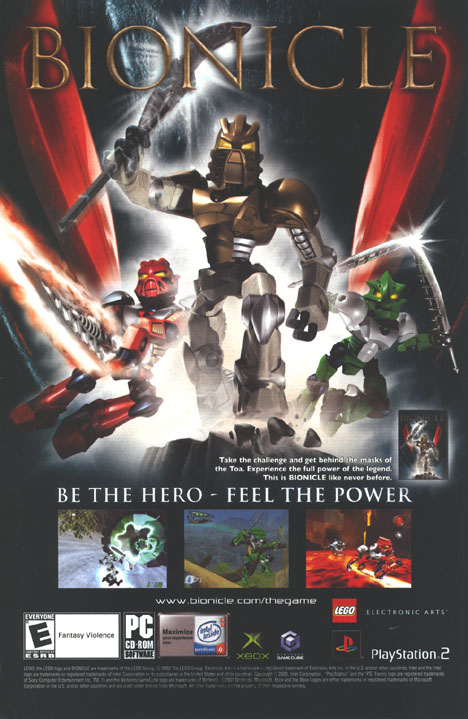 BIONICLE: Unmasked Back