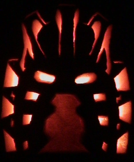 Mask Of Light Pumpkin