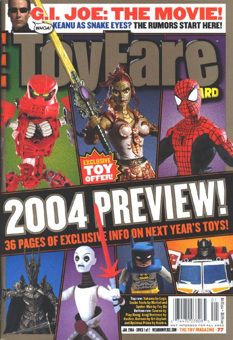 ToyFare� 77 Cover