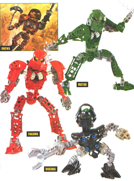 BIONICLE� Preview Detail