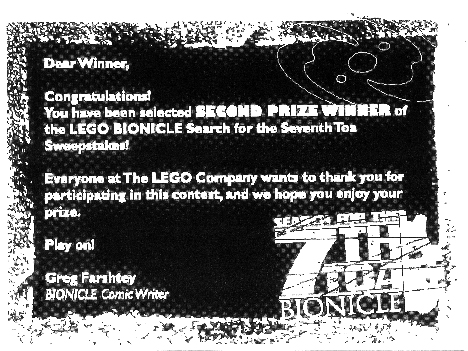 SST Second Prize Note