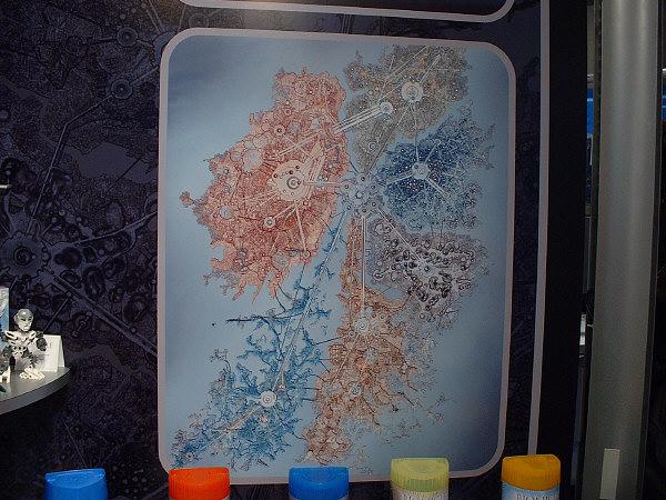 METRU NUI Map