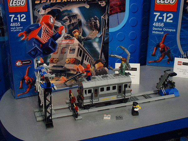 Spiderman's Train Rescue