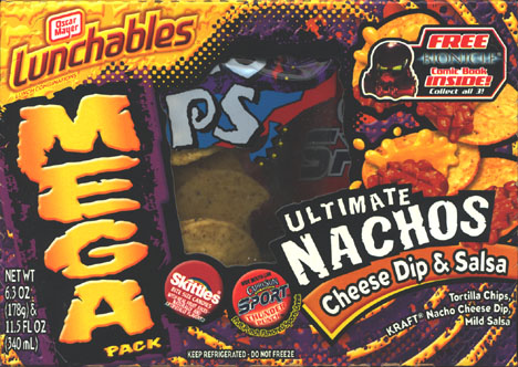 MEGA Lunchables Box Front