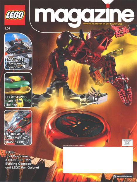LEGO� Magazine Front
