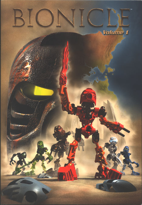 BIONICLE� Volume 1 Front