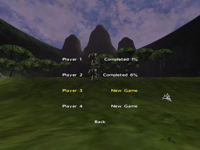 Player Screen