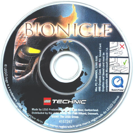UK Full-color Mini CD-ROM