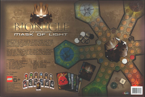 MoL Board Game Back
