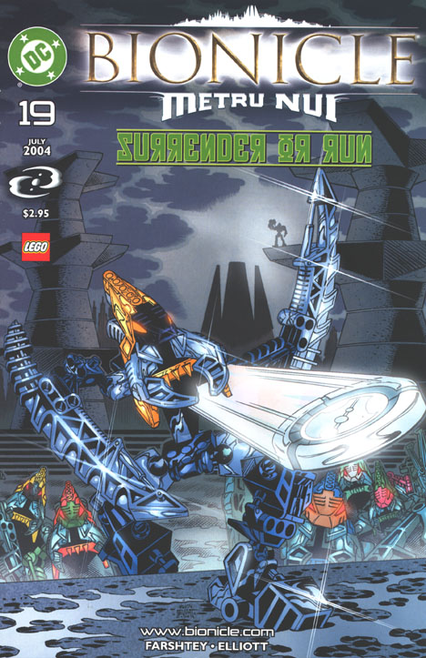 DC Comic #19 Front Cover