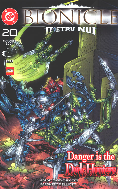 DC Comic #20 Front Cover
