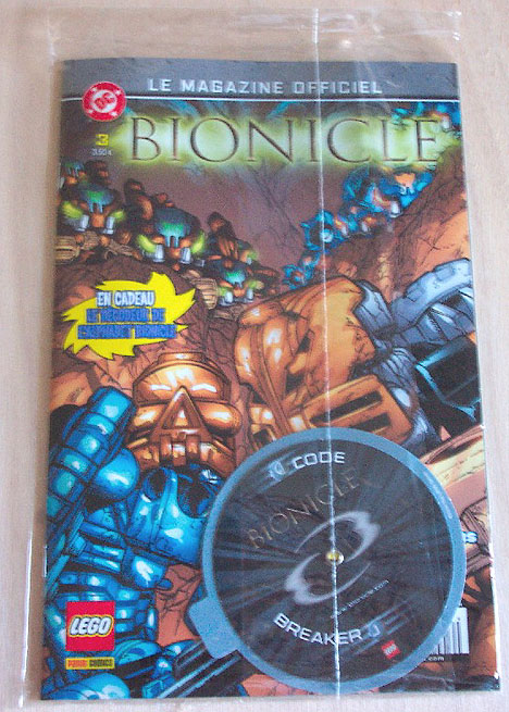 French BIONICLE Magazine