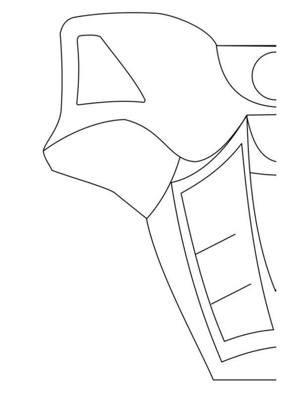 TOA NUVA armor - left
