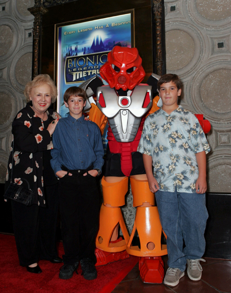 Doris Roberts and family