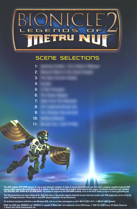 Scene Selection Insert