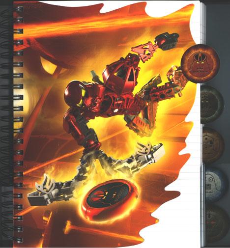 Metru Nui Notebook Tab