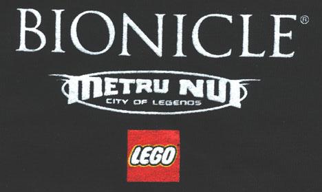 Metru Nui T-Shirt Back