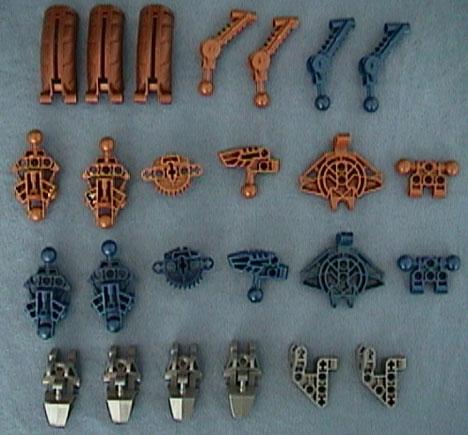 8715 Tub Parts - Bag 3